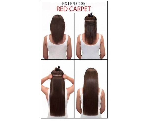 Complet Extension monobande cheveux naturels Double Drawn | Cheveux lisses  LX21