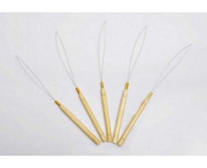 Crochet pour extensions de cheveux à loop - 5 pièces