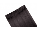 Extension monobande cheveux naturels Brun foncé