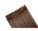 Extension monobande cheveux naturels Chocolat