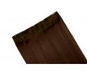 Extension monobande cheveux naturels Châtain foncé