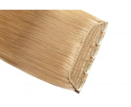 Extension monobande cheveux naturels Blond miel