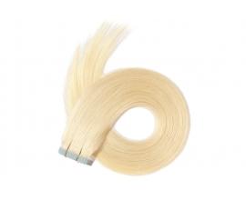 Extensions adhésives Blond Platine