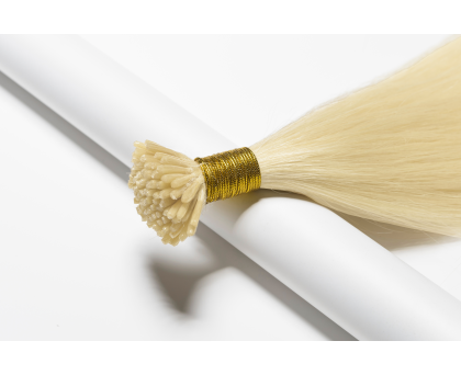 Extensions I-Tip blond platine
