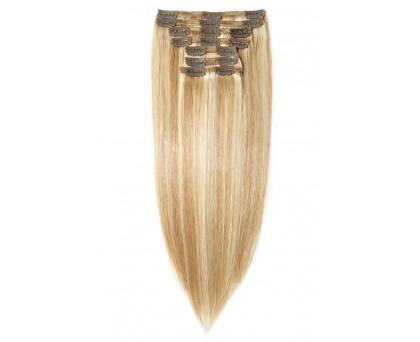 Extension à clip Blond mèche platine