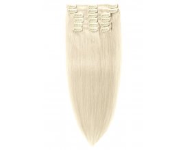 Extension à clip Blond Platine Extrême