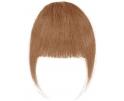 Frange à clip cheveux naturels Châtain Clair / Blond