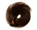 Extension à la kératine cheveux naturels Double Drawn