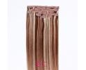 Extension à clip Chocolat mèche platine
