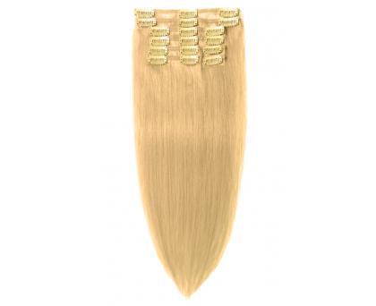 Extensions à clip Blond Platine Extrême - 50cm - 70g