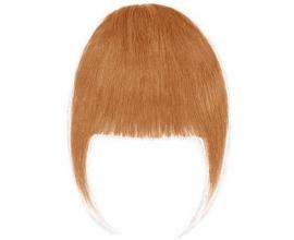 Frange à clip cheveux naturels Blond Miel