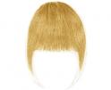 Frange à clip cheveux naturels Blond Platine