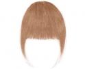 Frange à clip cheveux naturels Blond Fraise