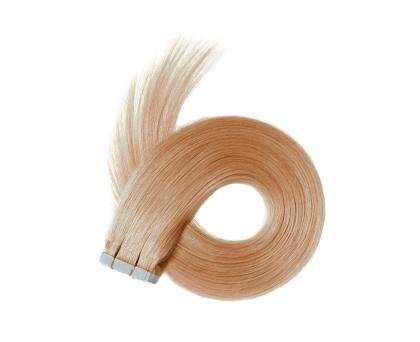 Extensions adhésives Blond Fraise