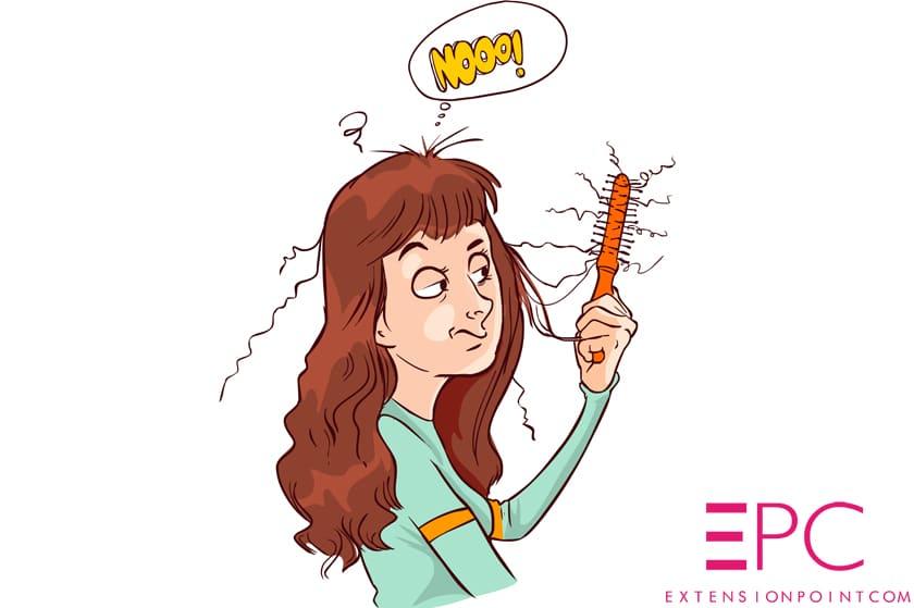 Cheveux plats et fins : comment bien porter ses extensions de cheveux à clips ?